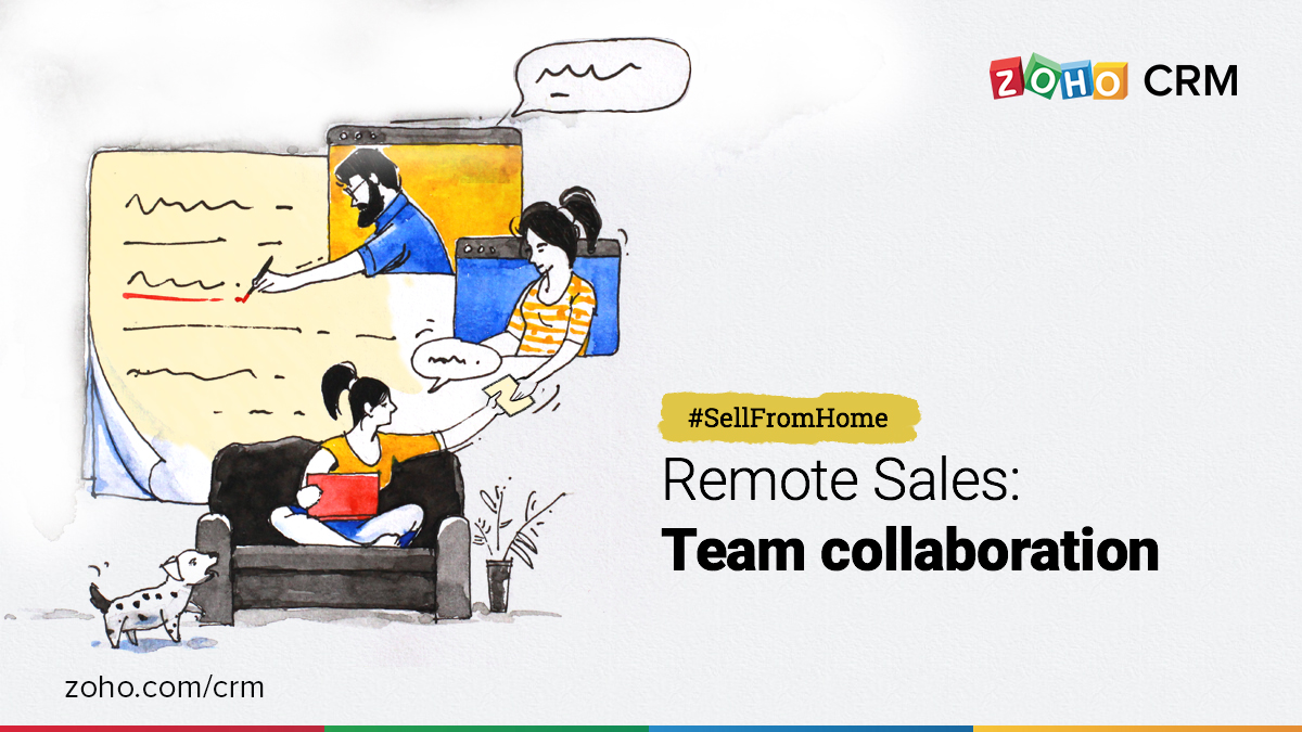 Collaborate with your peers to sell better remotely