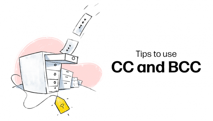 3 tips for using CC and BCC in an email