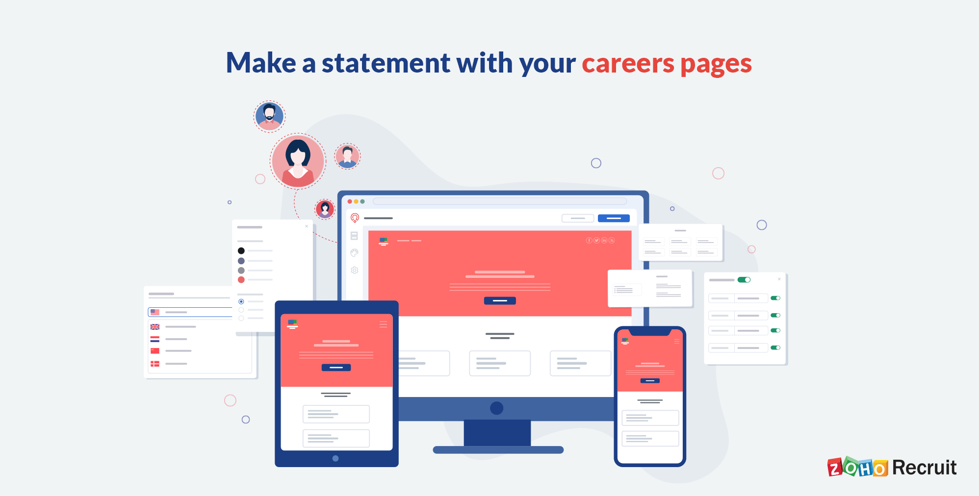 Announcing Zoho Recruit's Career Site upgrade for Staffing Agencies and Corporate HRs
