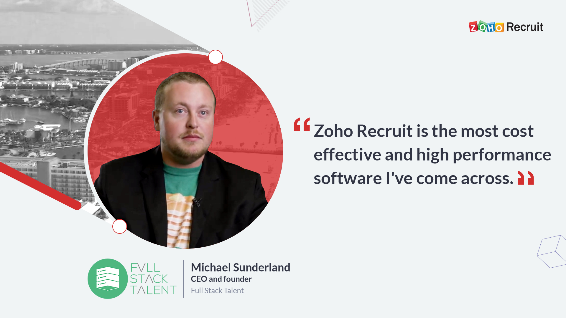 Customer Spotlight: Full Stack Talent streamlines their recruitment process using Zoho Recruit