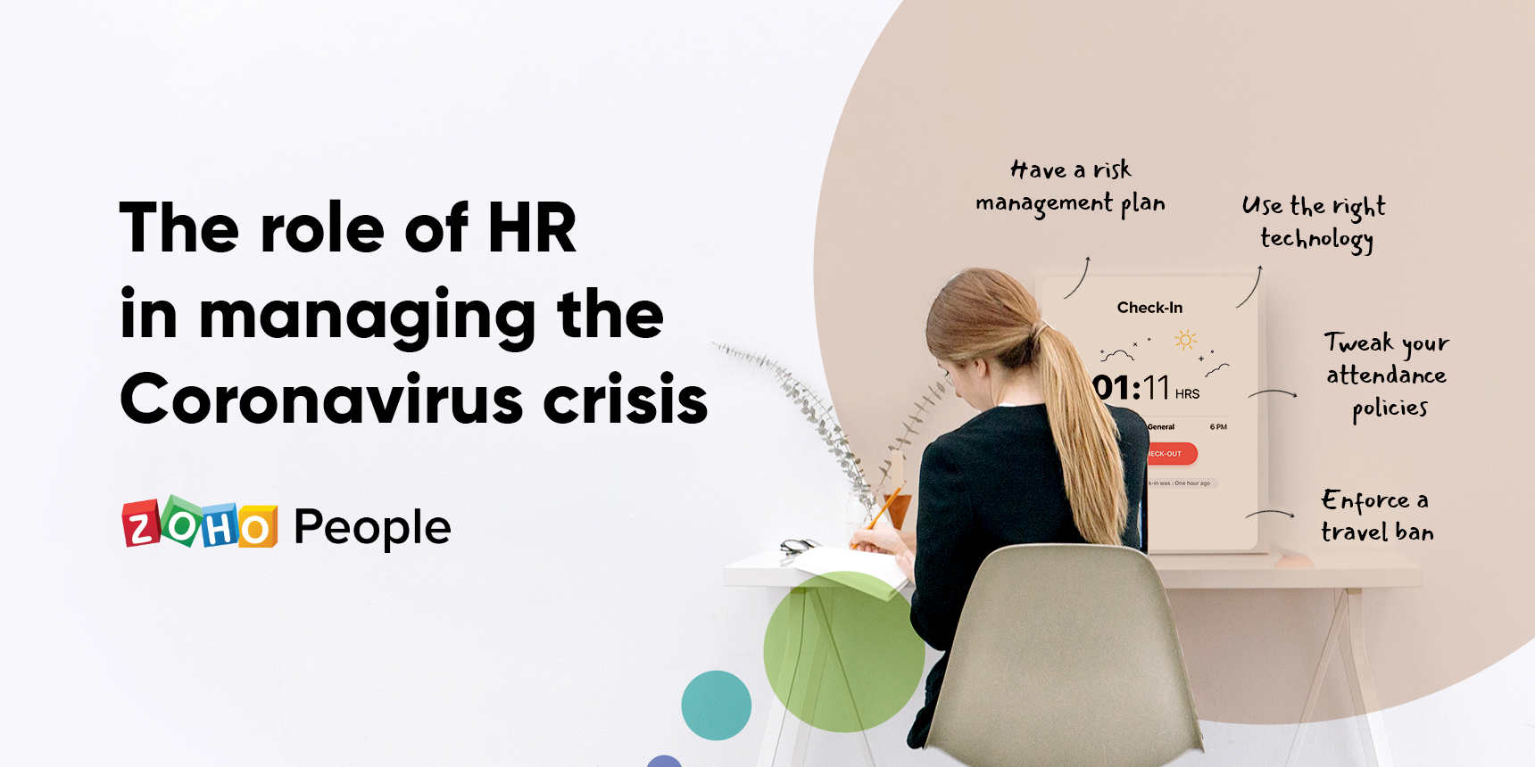 Managing employees during a crisis