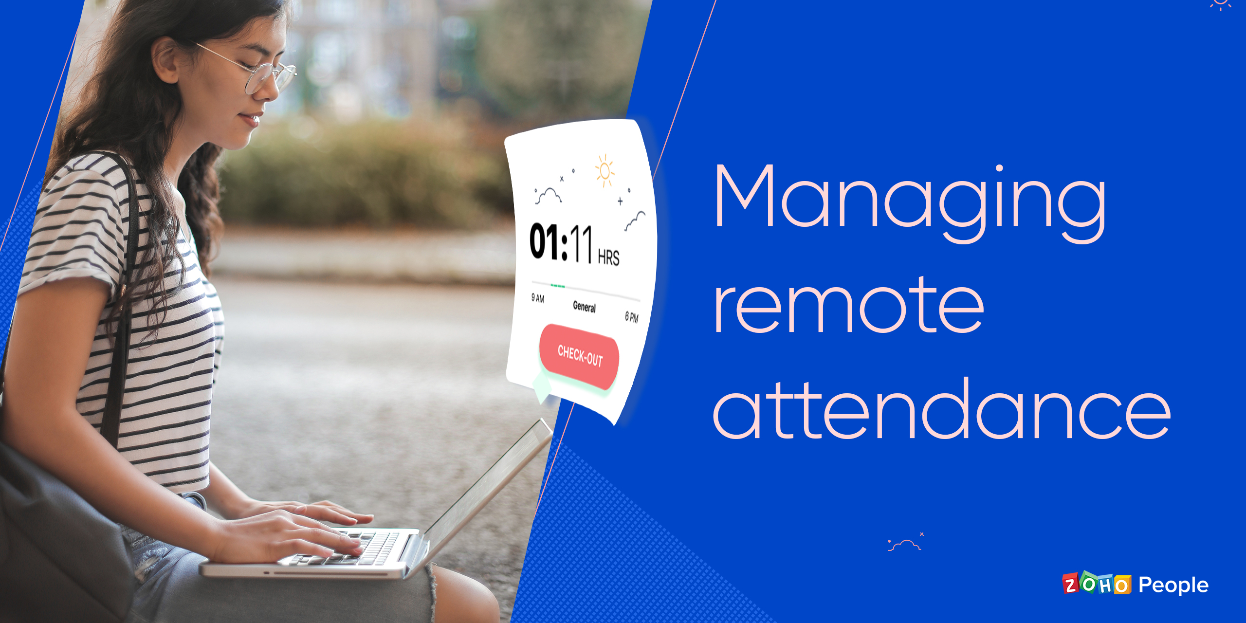 Managing remote attendance with a cloud-based attendance tracker