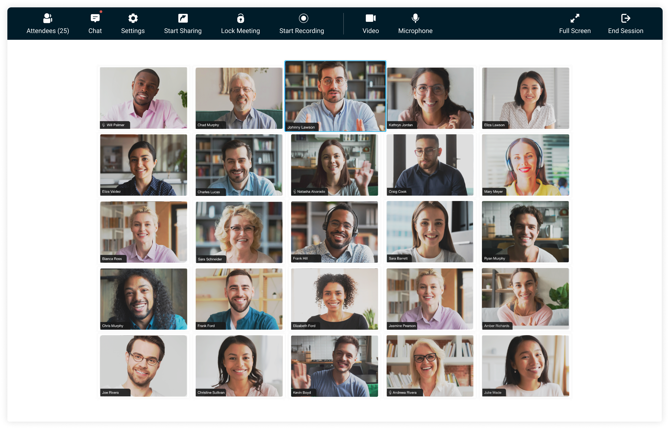 Zoho Meeting introduces video conferencing with multiple video feeds
