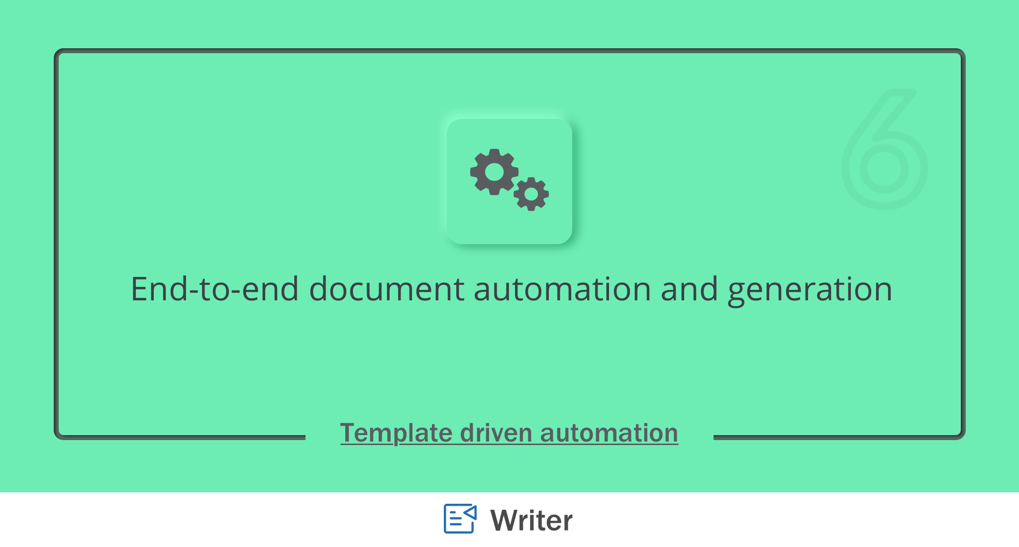 Introducing template-driven document automation in Writer