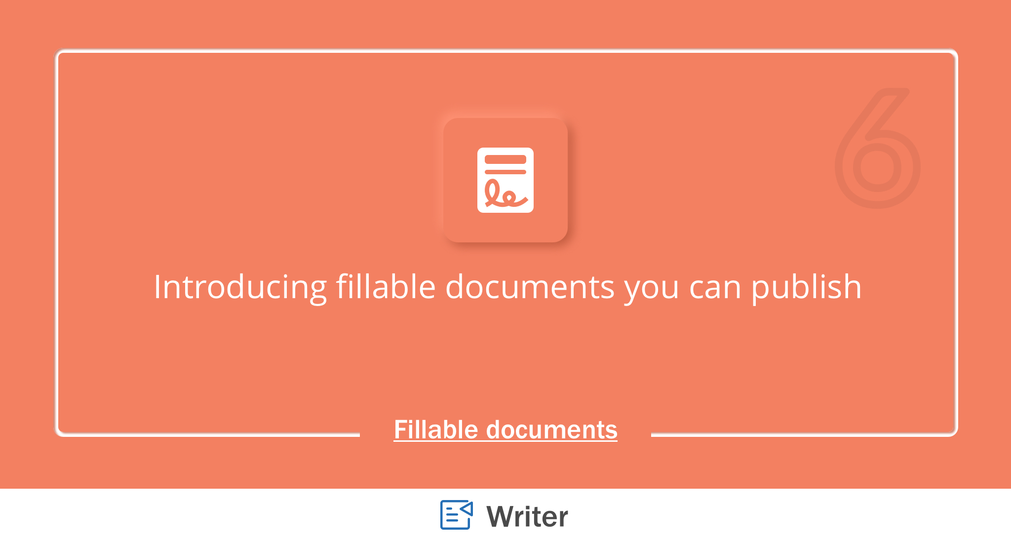 Introducing Fillable Documents in Zoho Writer