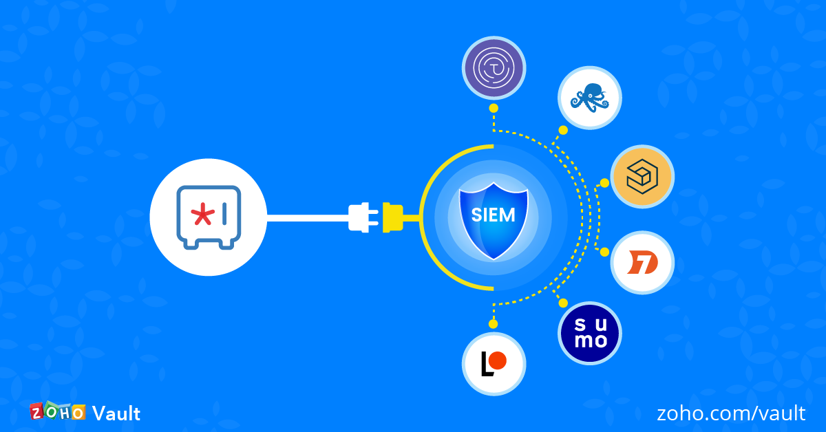 Introducing SIEM integrations in Zoho Vault