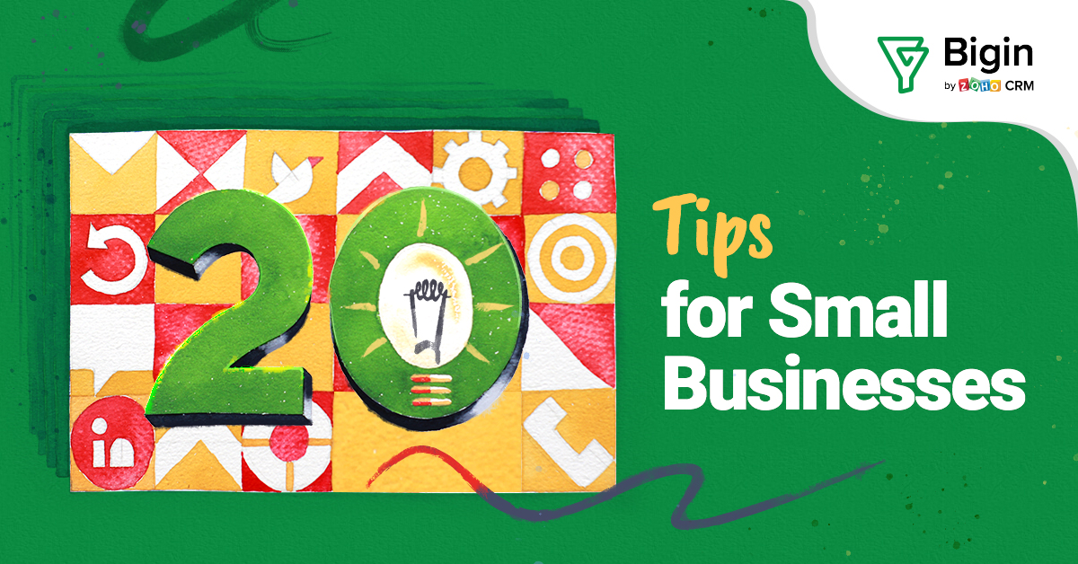 20 Tips for Small Businesses