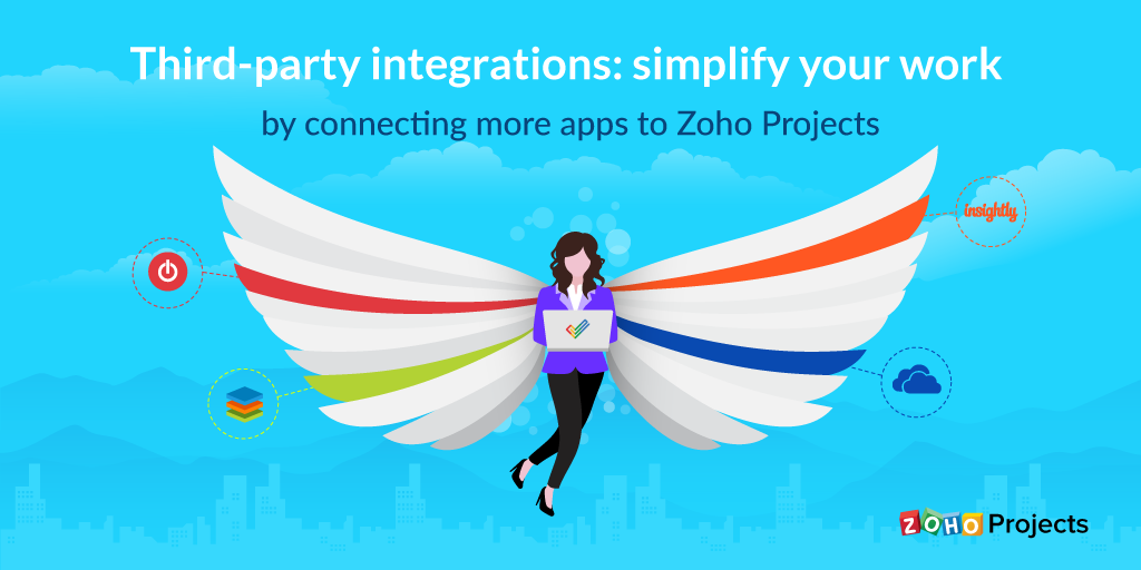 Third-party integrations: simplify your work by connecting more apps to Zoho Projects