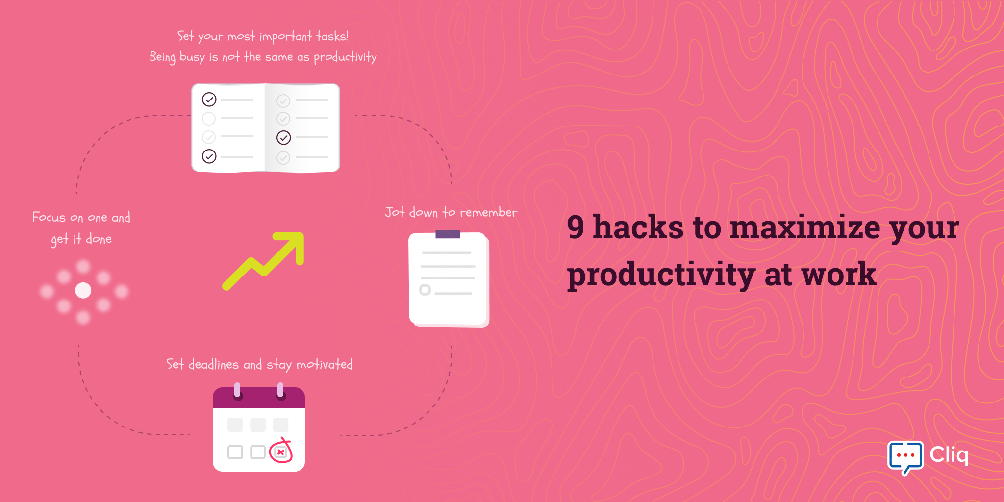 9 hacks to maximize your productivity at work