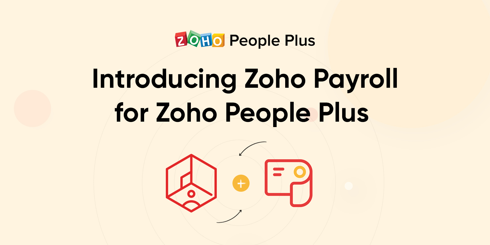 Zoho Payroll for Zoho People Plus