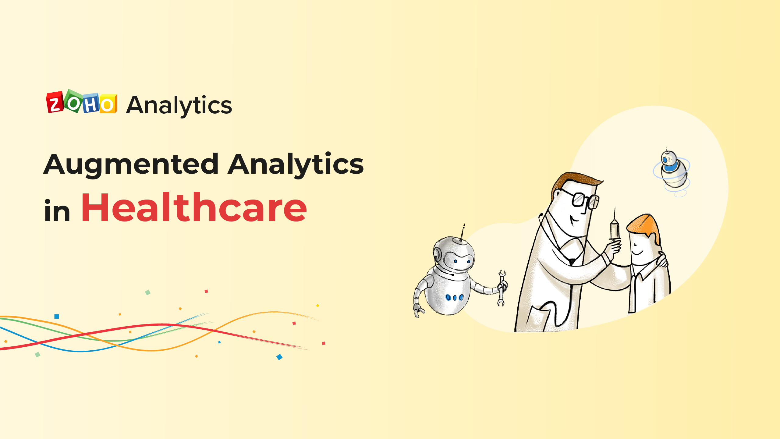 Augmented analytics in health care