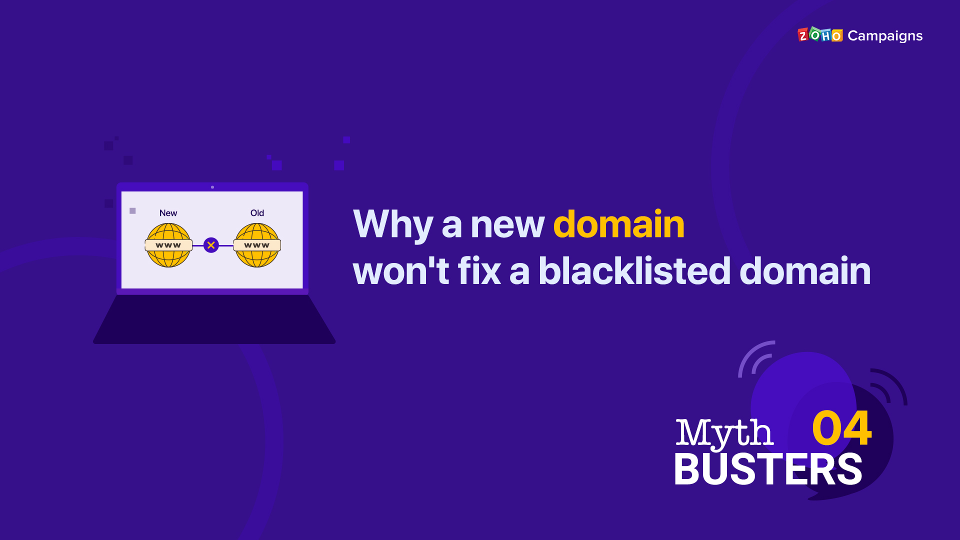 Why a new domain won't fix a blacklisted domain