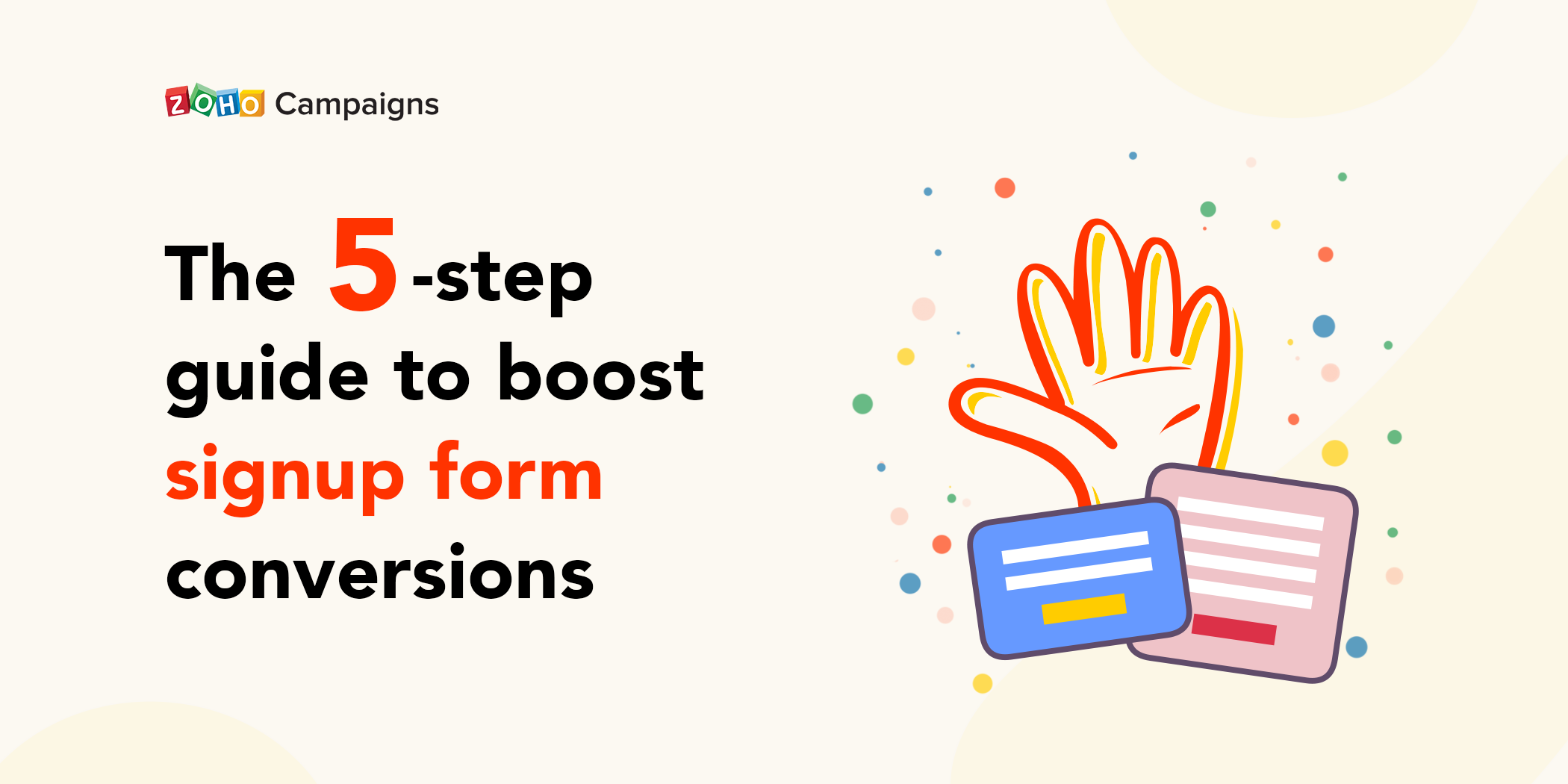 The 5-step guide to boost signup form conversions