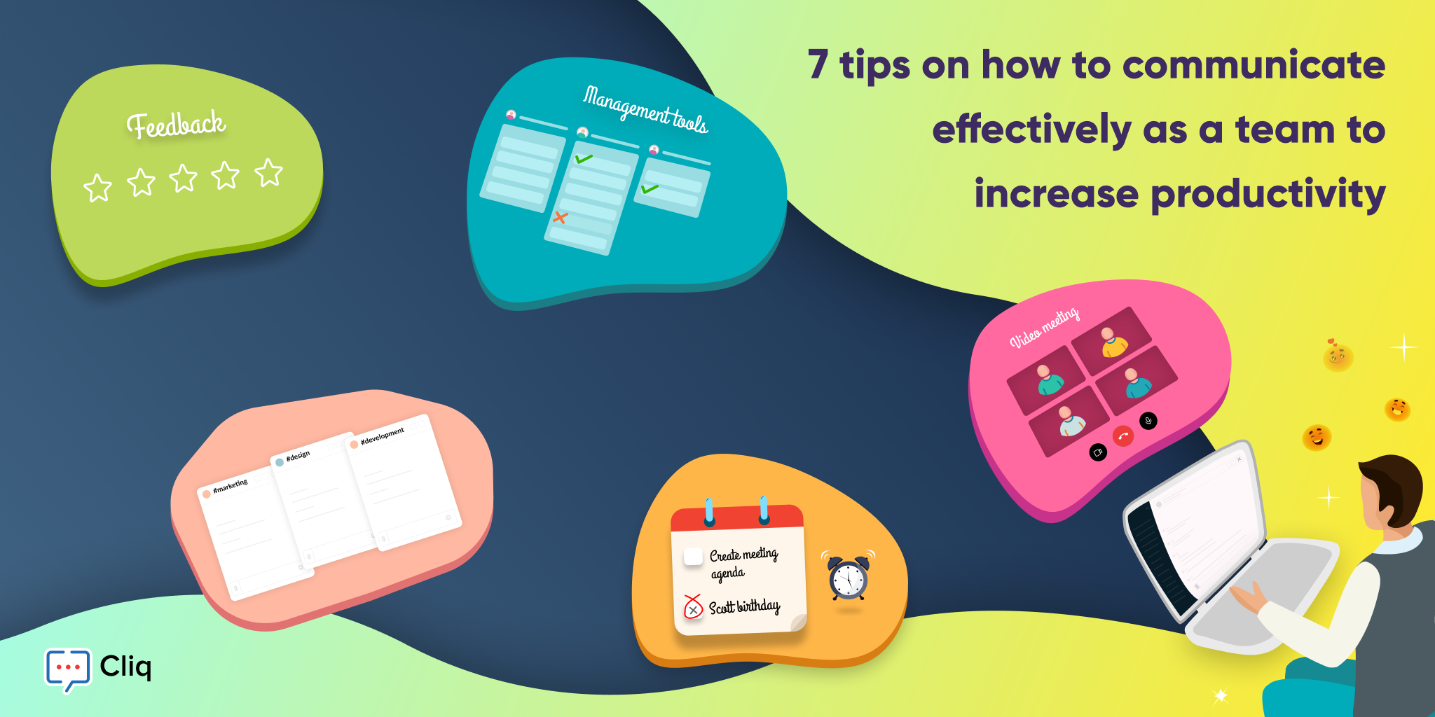 7 tips on how to communicate effectively as a team to increase productivity
