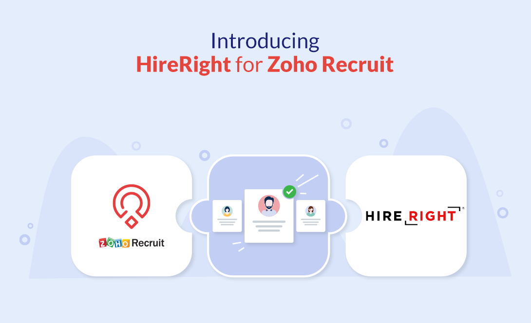 HireRight with Zoho Recruit
