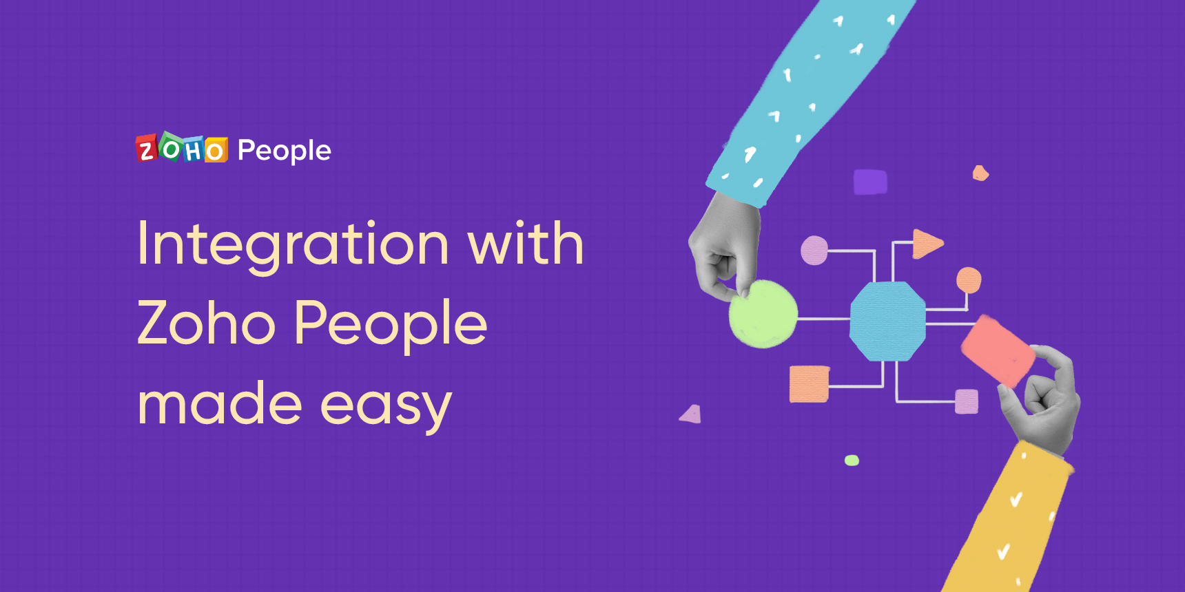 Level up your business processes with Zoho People's integrations