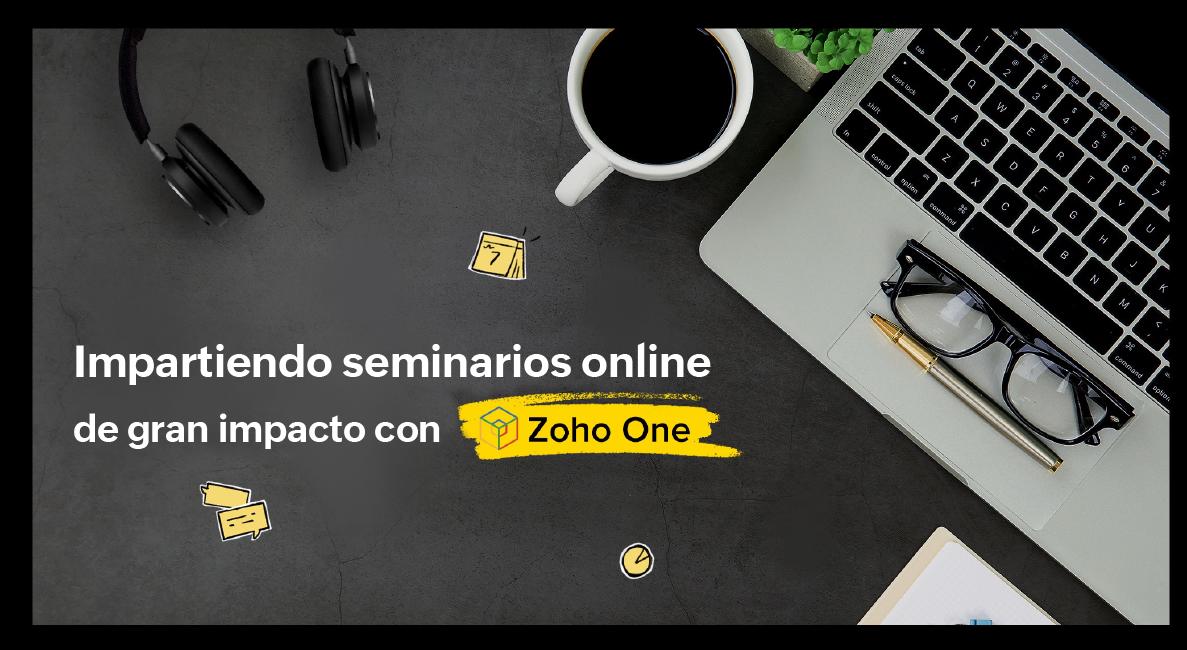 seminarios online con zoho one
