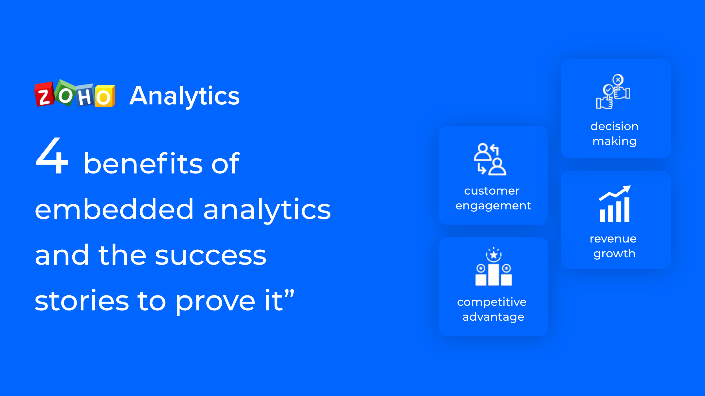 4 benefits of embedded analytics, and the success stories to prove it