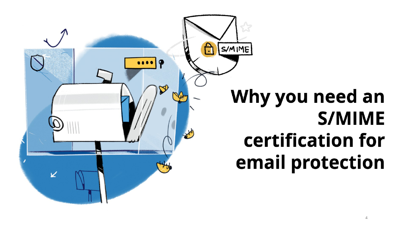 S/MIME certification: Why you need it for email protection