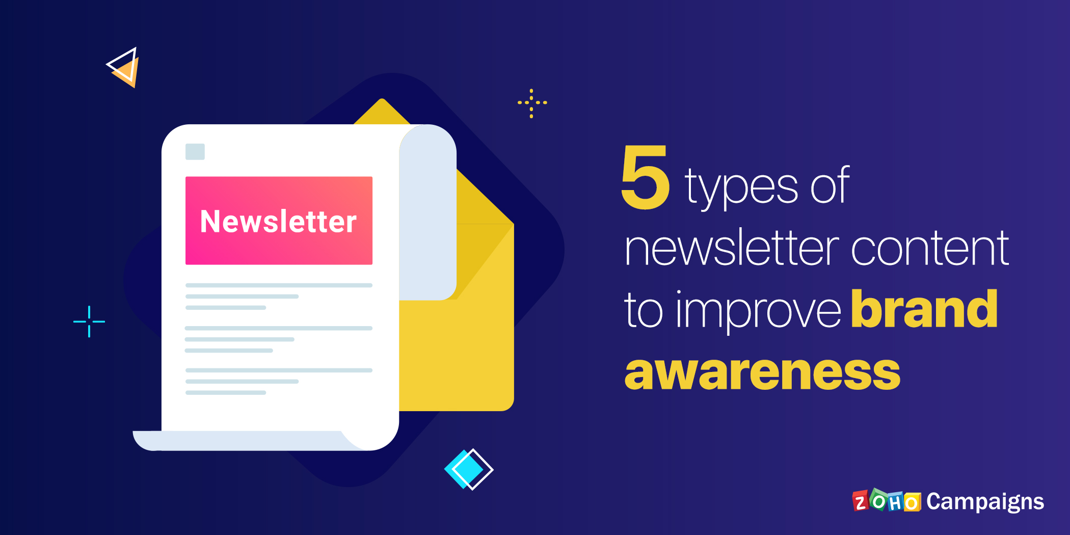5 types of newsletter content to improve brand awareness