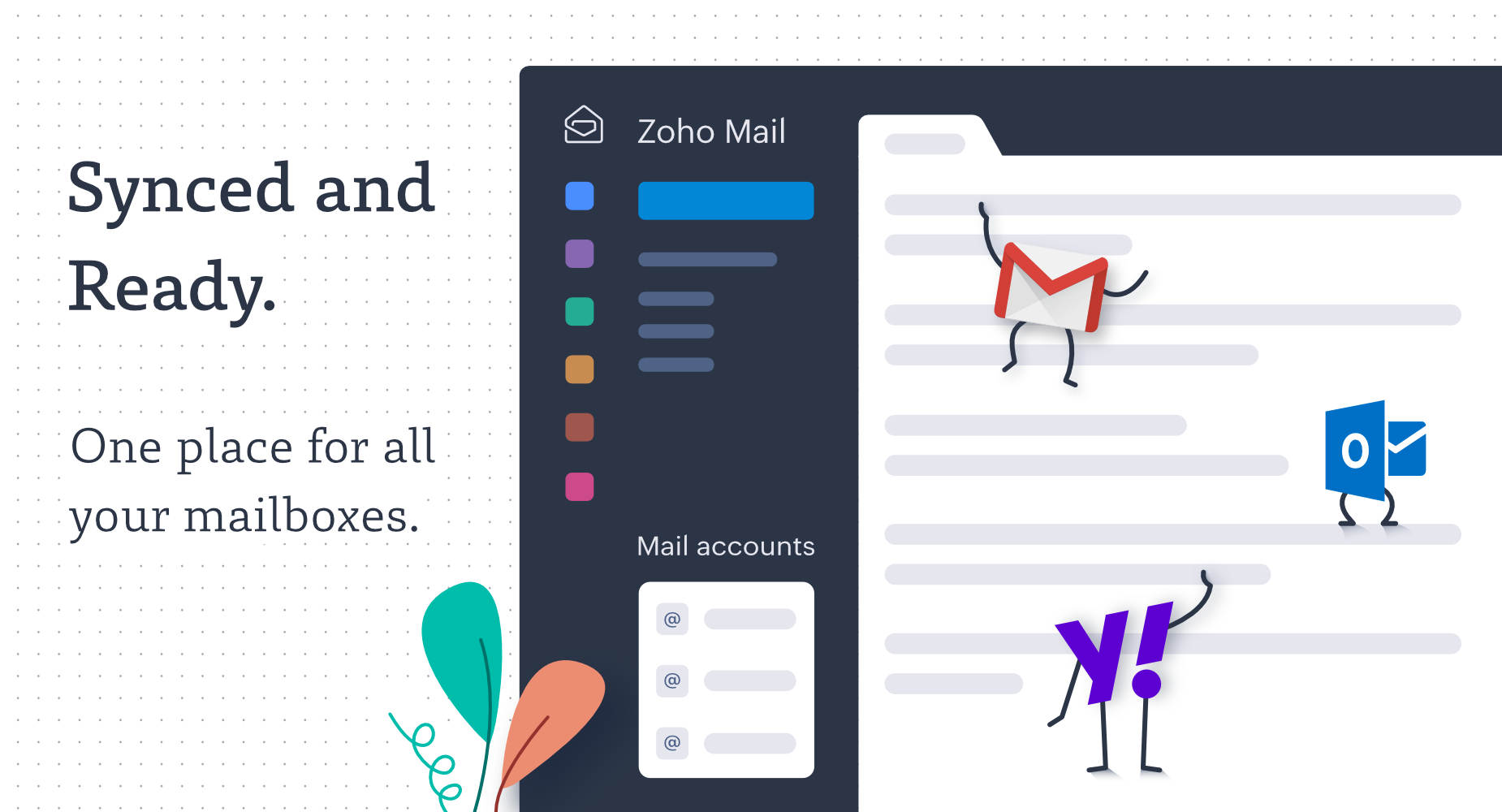 Announcing Zoho Mail as IMAP Client: One place for all your email accounts