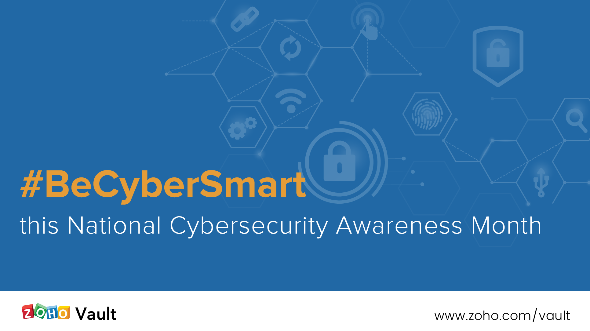 #BeCyberSmart this National Cybersecurity Awareness Month