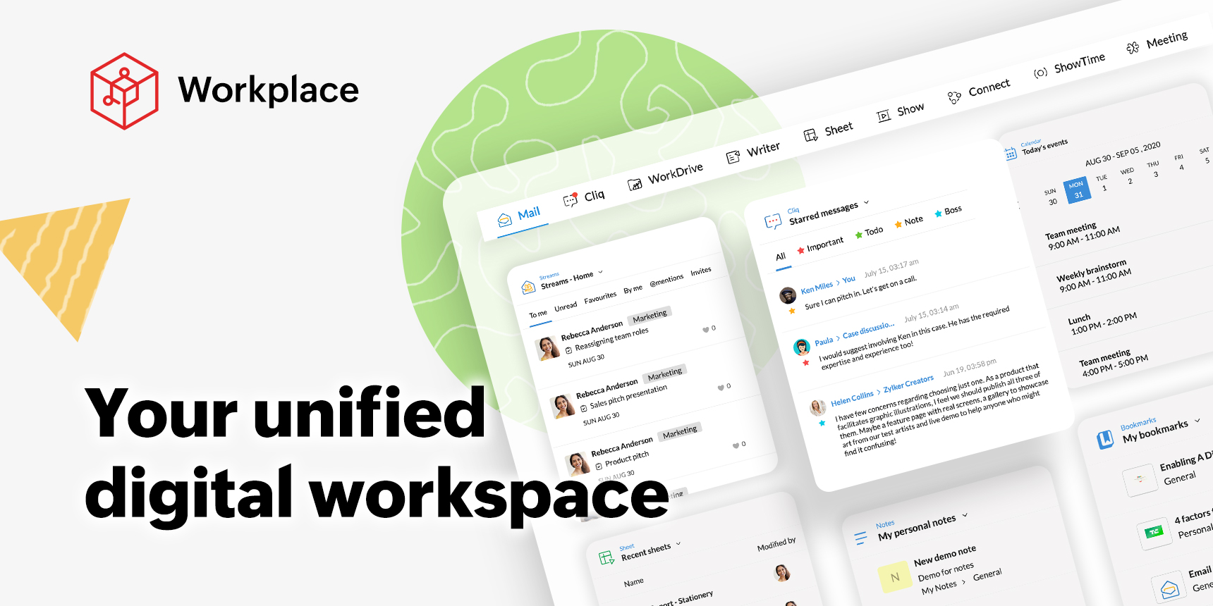 Presenting the new and improved Zoho Workplace—your unified digital workspace