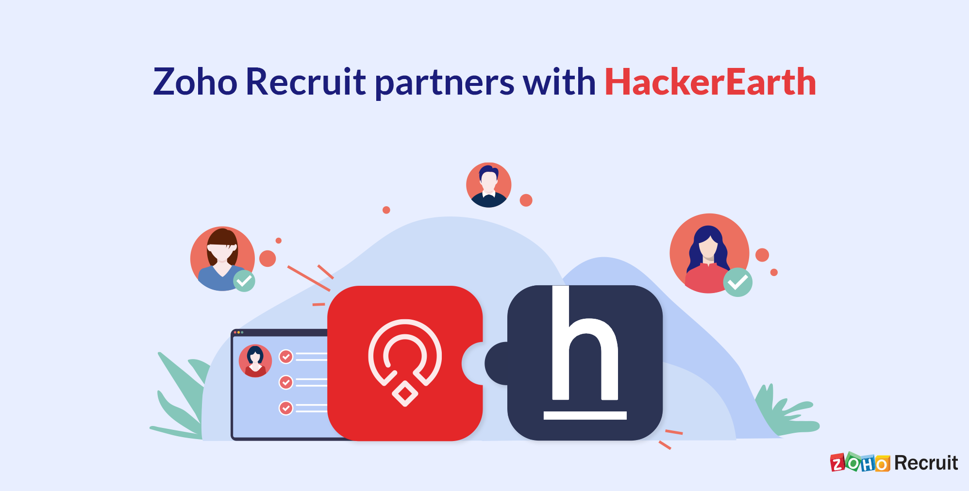 Now live: Zoho Recruit's integration with HackerEarth