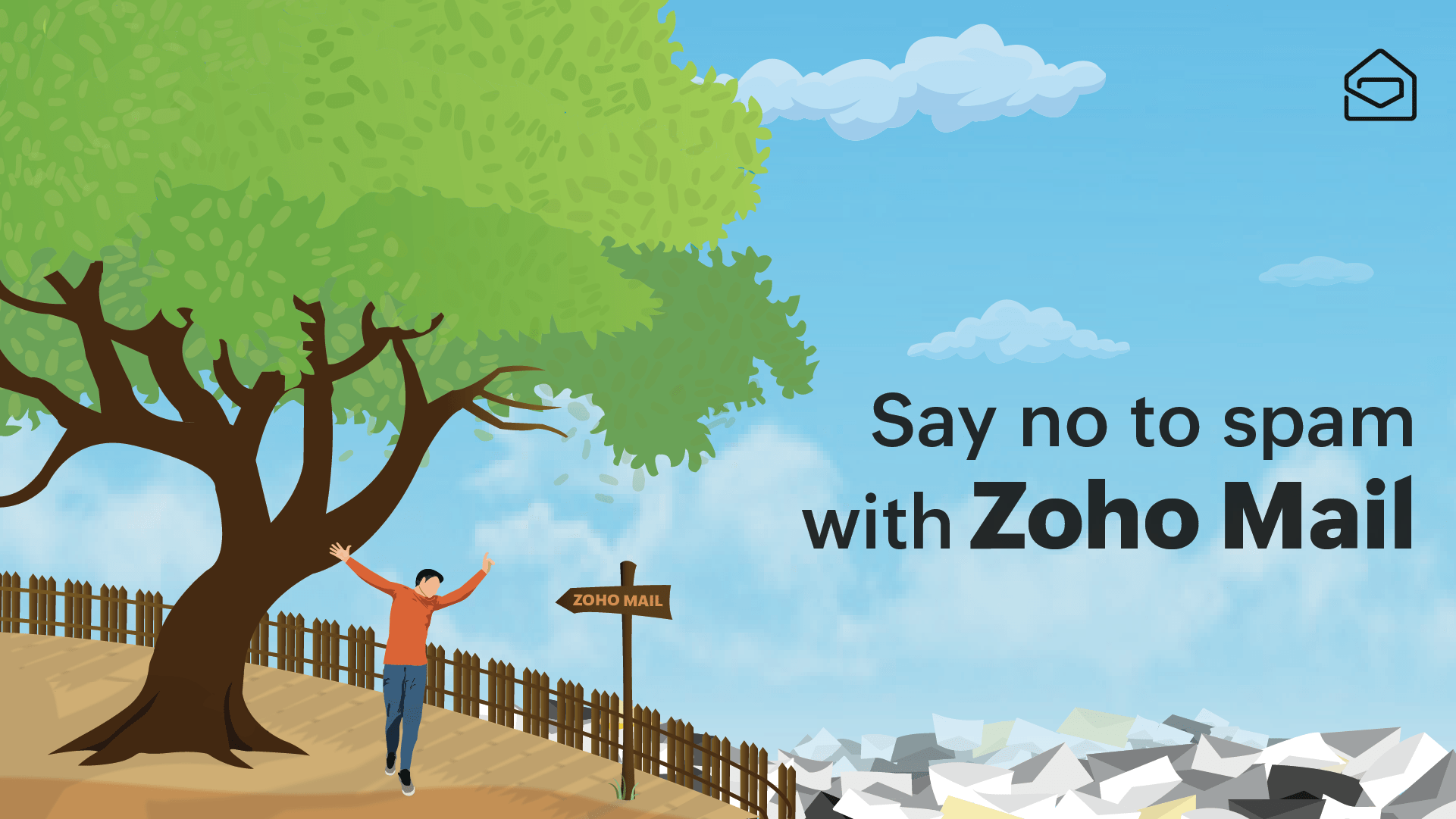 Zoho mail spam protection
