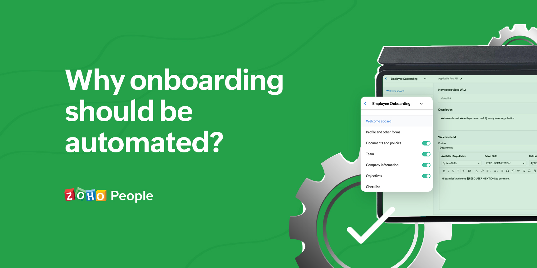 How an effective onboarding system benefits your organization