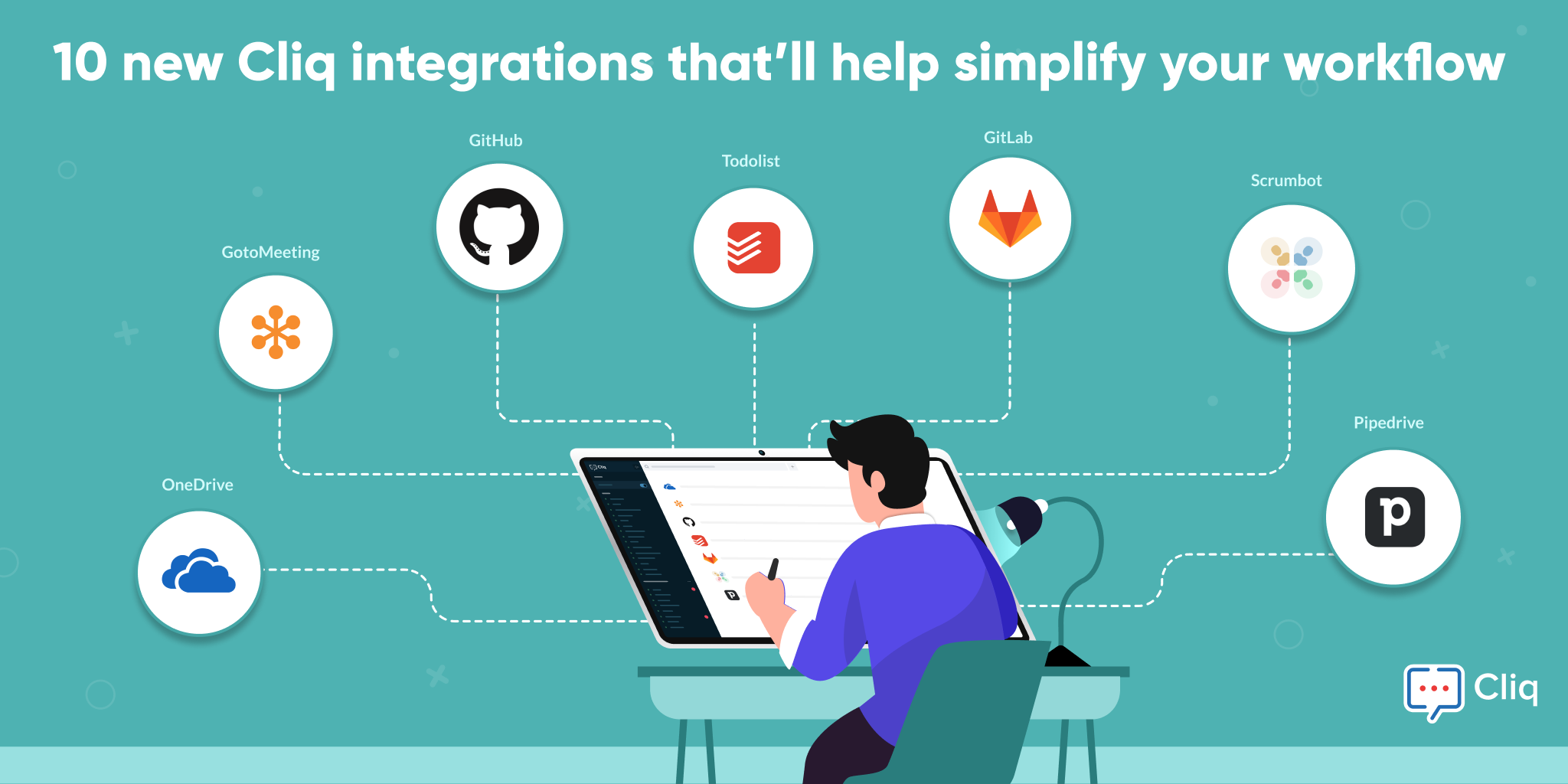 10 new Cliq integrations to simplify your workflow