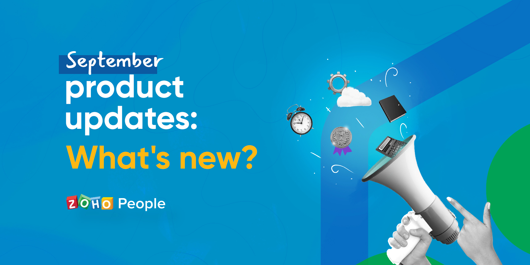 What's new in Zoho People this September