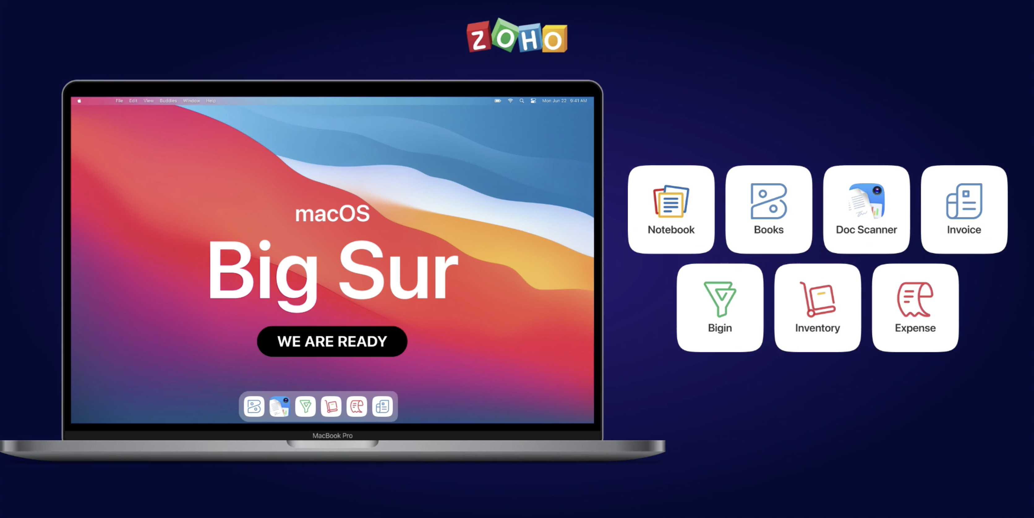 Bringing the macOS Big Sur experience to your Zoho apps