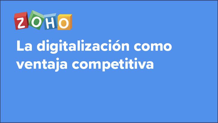 La digitalización como ventaja competitiva