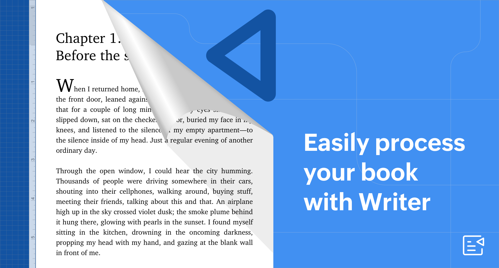 Almost finished writing your book this NaNoWriMo? Now, you can easily process it with Writer!