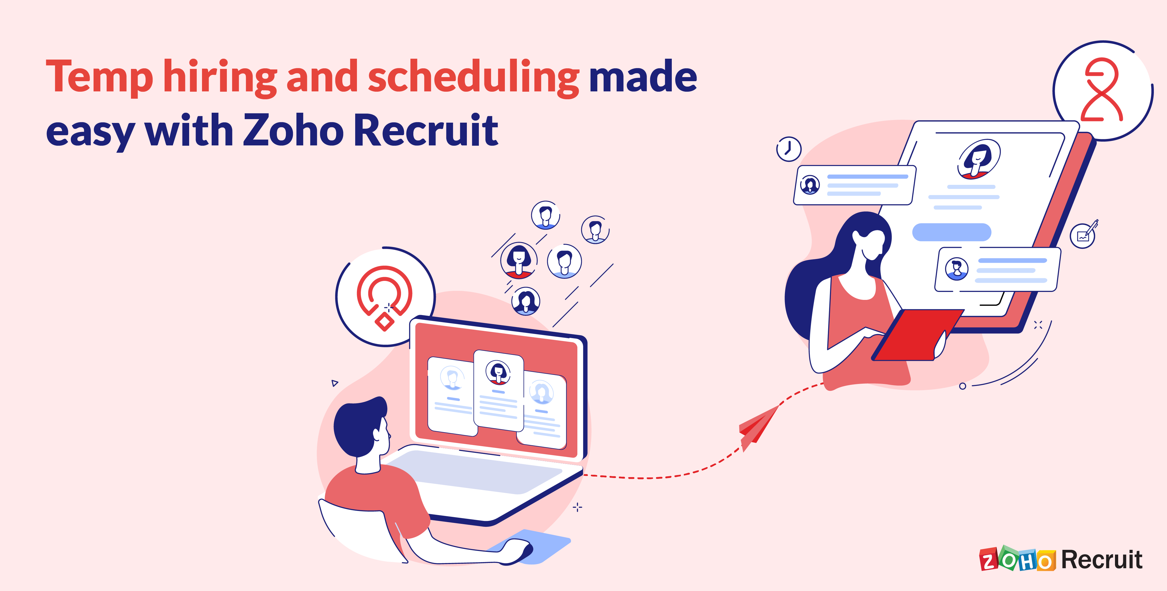 Convert candidates to temps with Zoho Recruit – Workerly integration