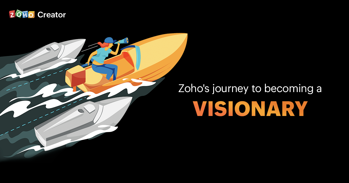 Zoho Positioned as Visionary in Gartner Magic Quadrant for Enterprise Low-Code Application Platforms, 2020