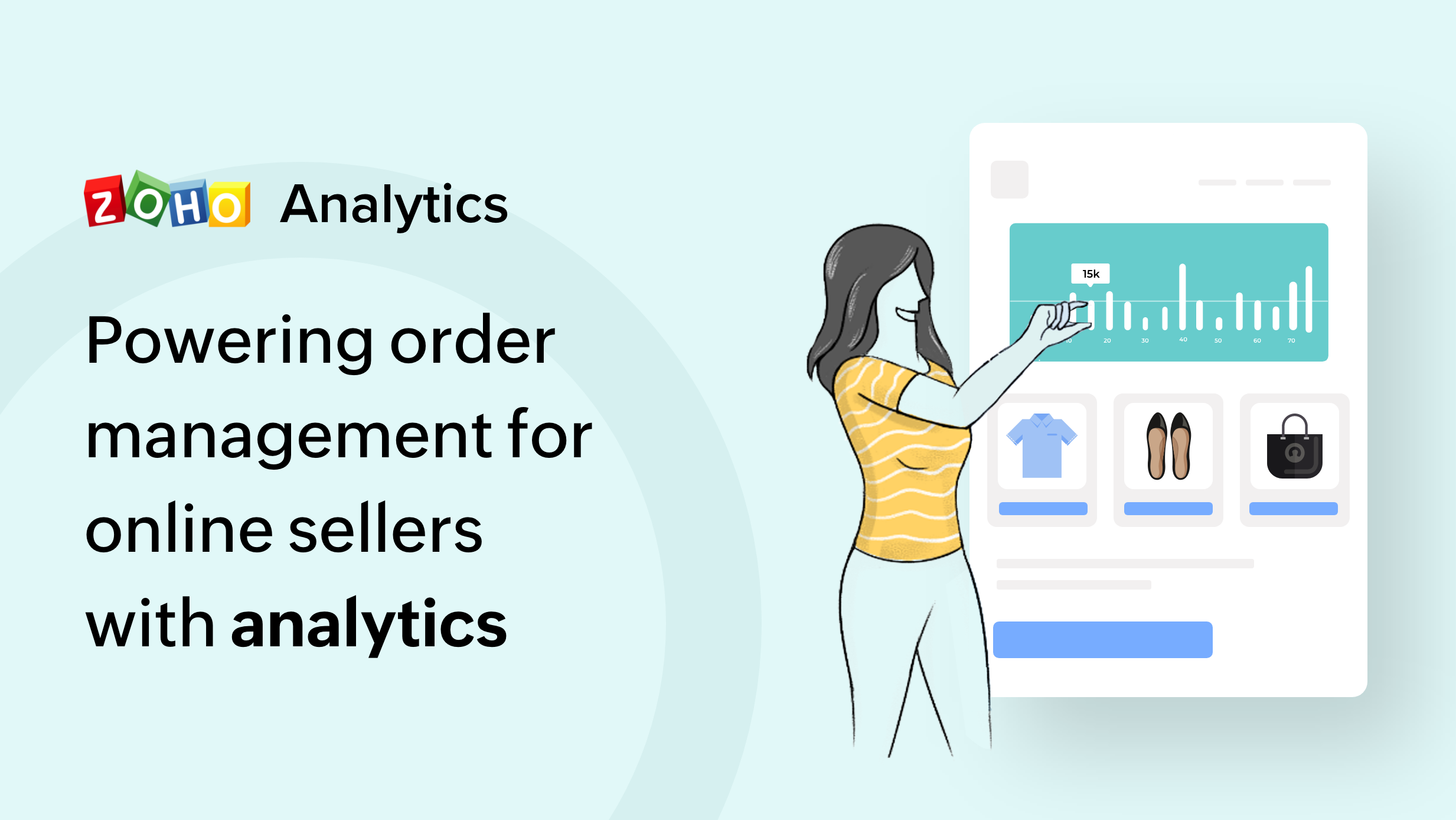 Powering order-management for online sellers with Analytics