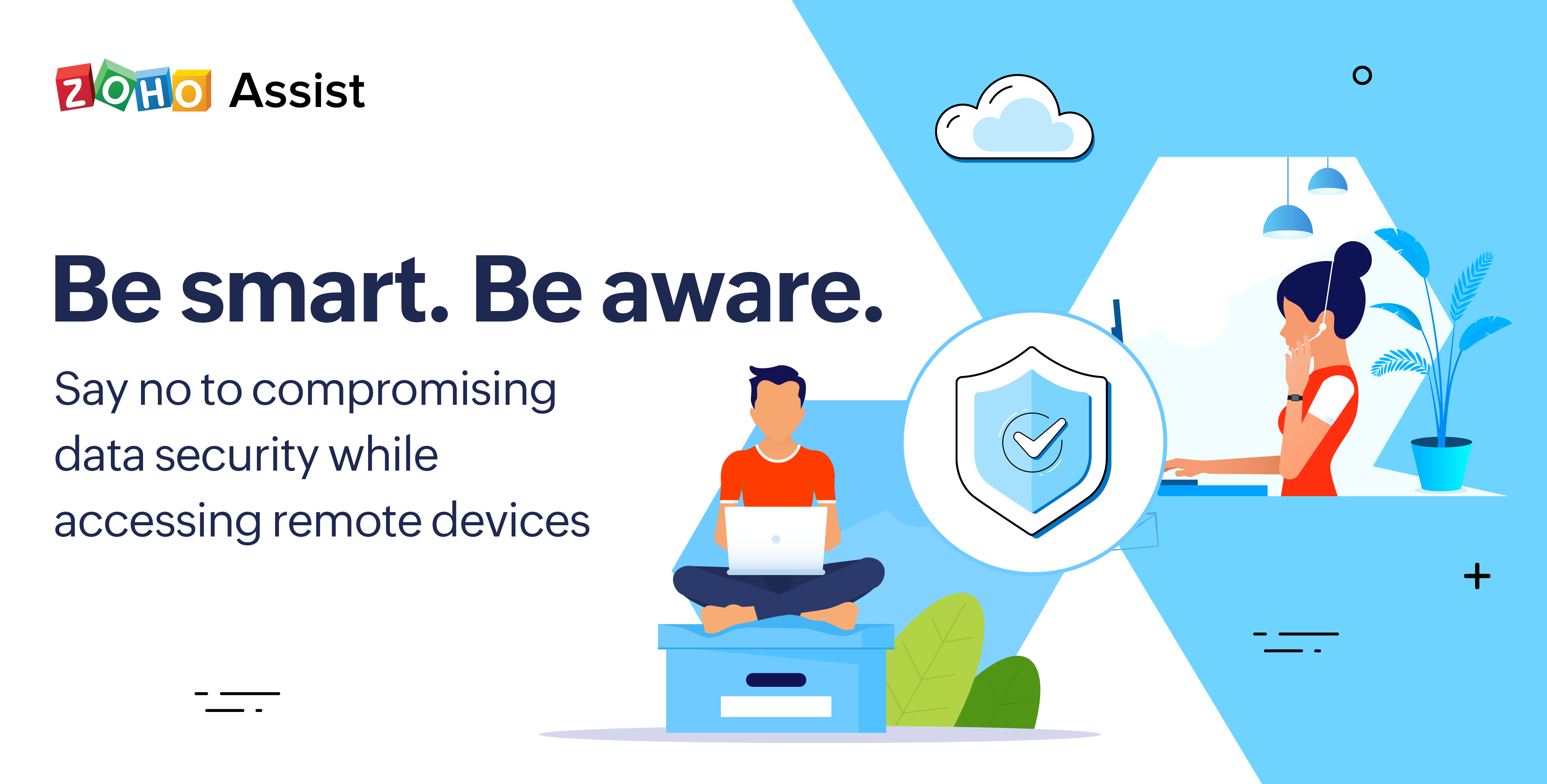 Say goodbye to remote access security risks: Zoho Assist to the rescue!