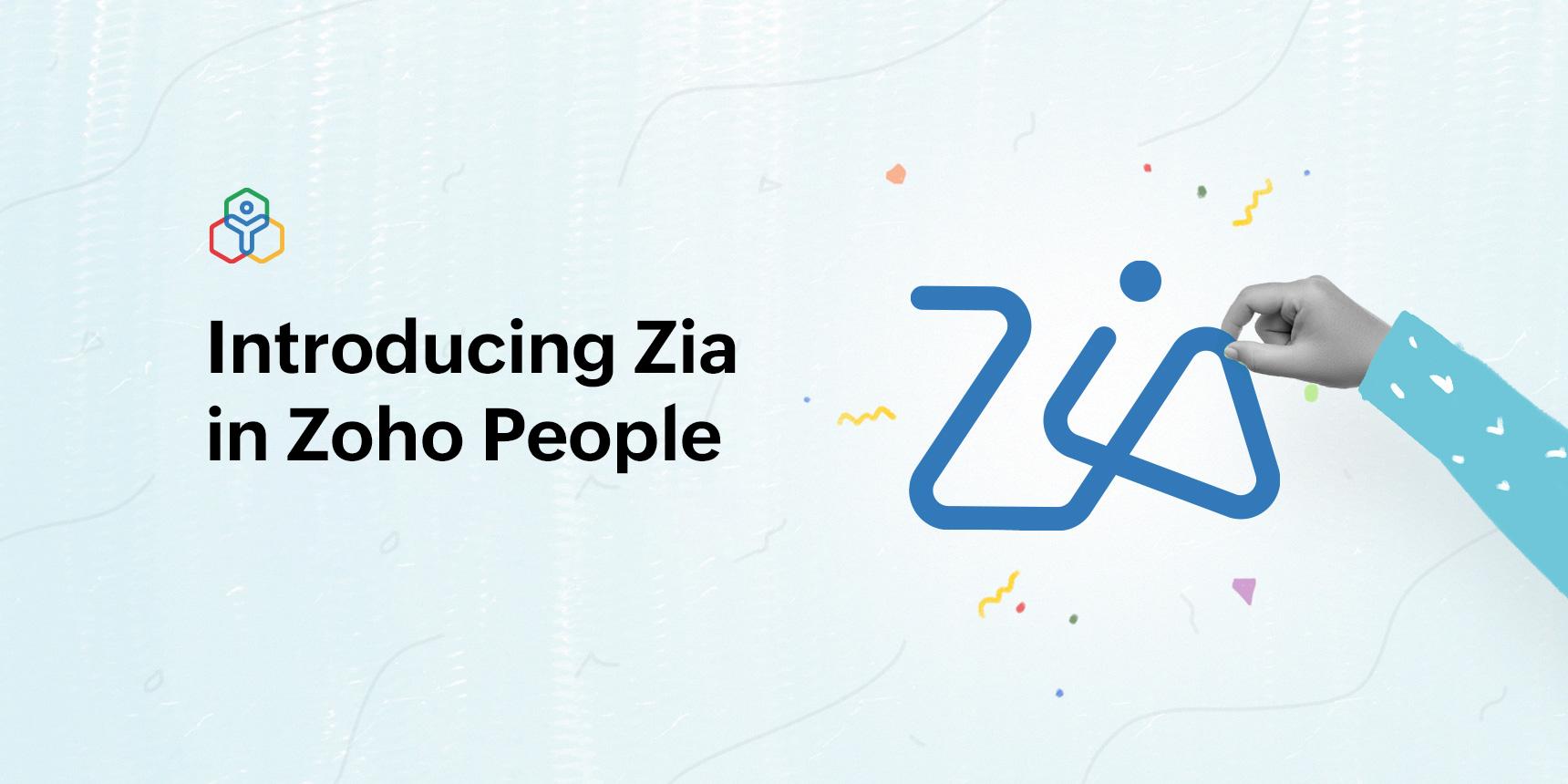 نقدم لكم زيا Zia، المساعد الذكي للموارد البشرية