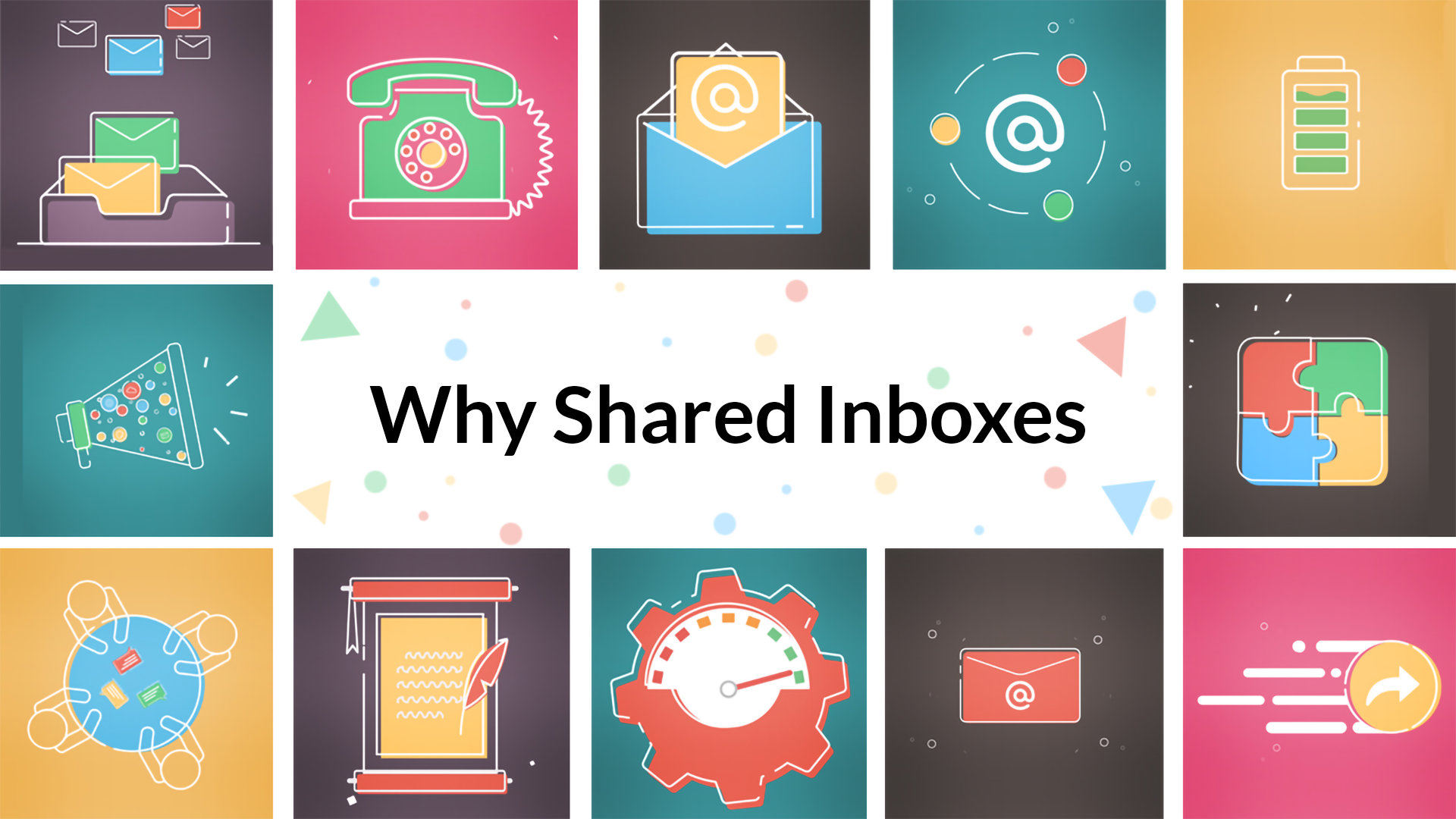 Shared inboxes: Make your team space extra transparent