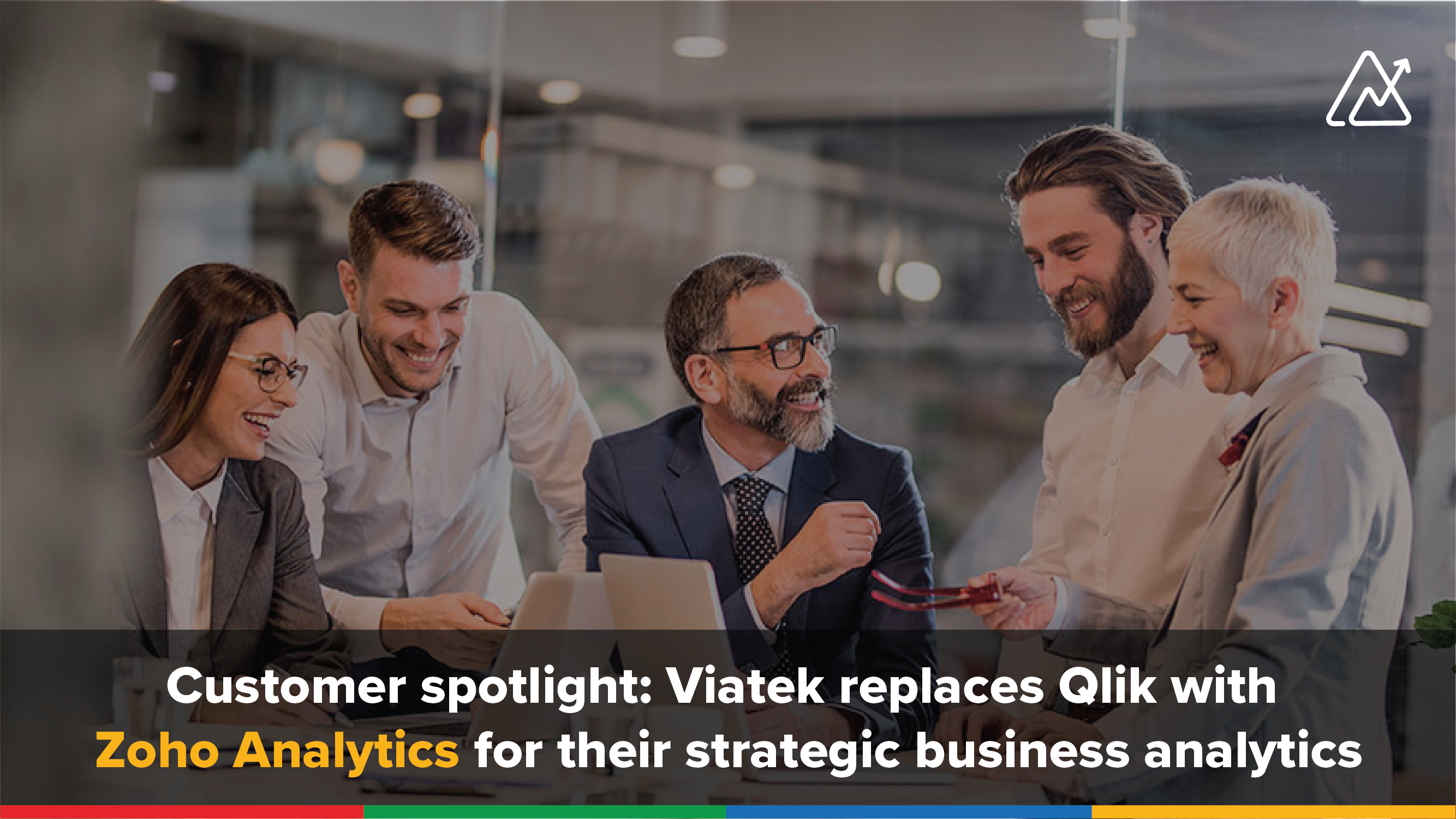 Viatek replaces Qlik with Zoho Analytics for their business analytics