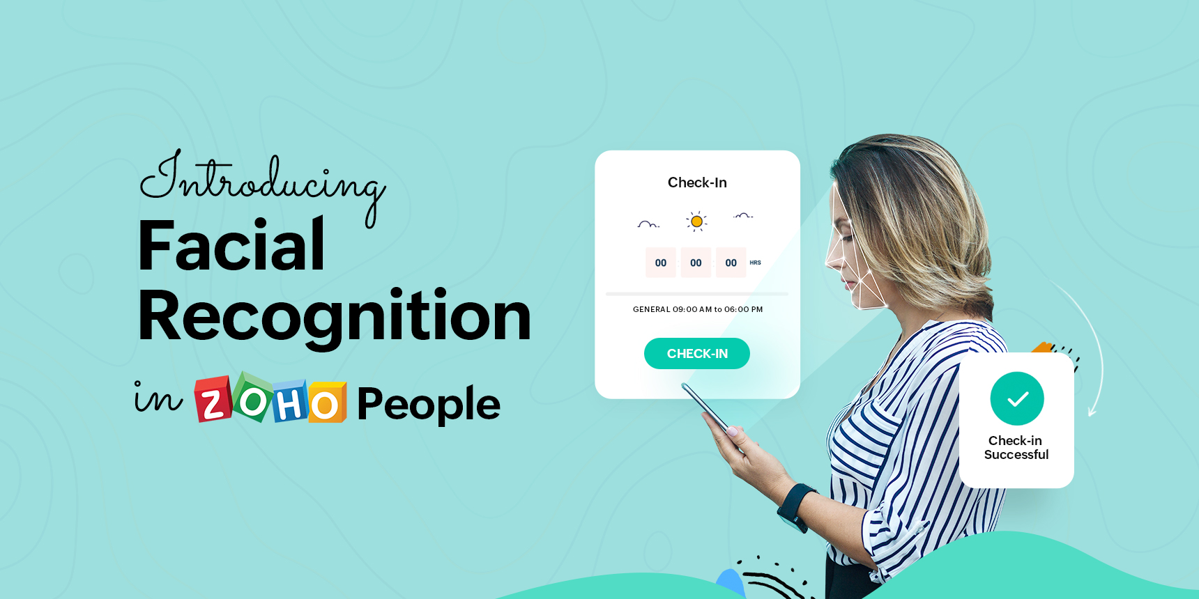 How facial recognition in Zoho People streamlines attendance