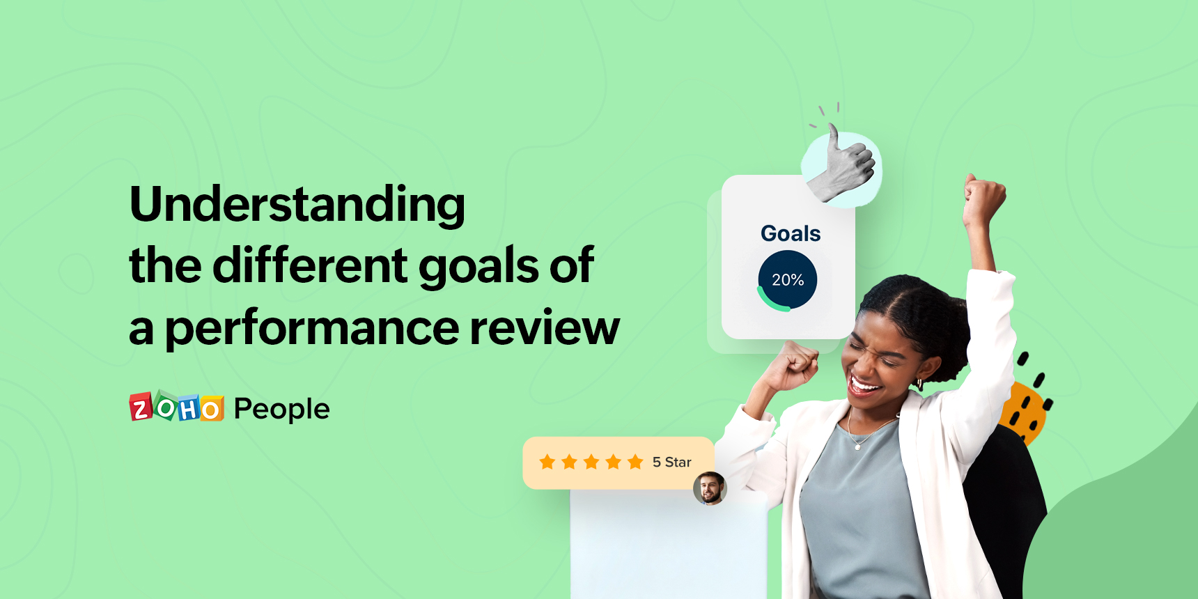 Understanding the goals of a performance review