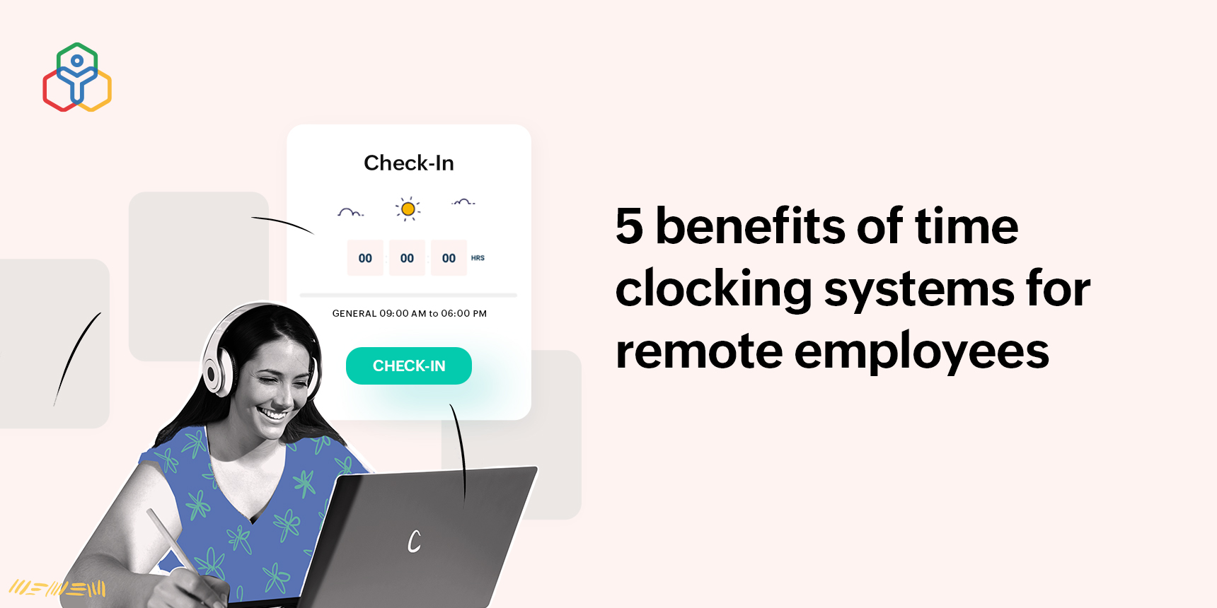 Time clocking system for remote employees