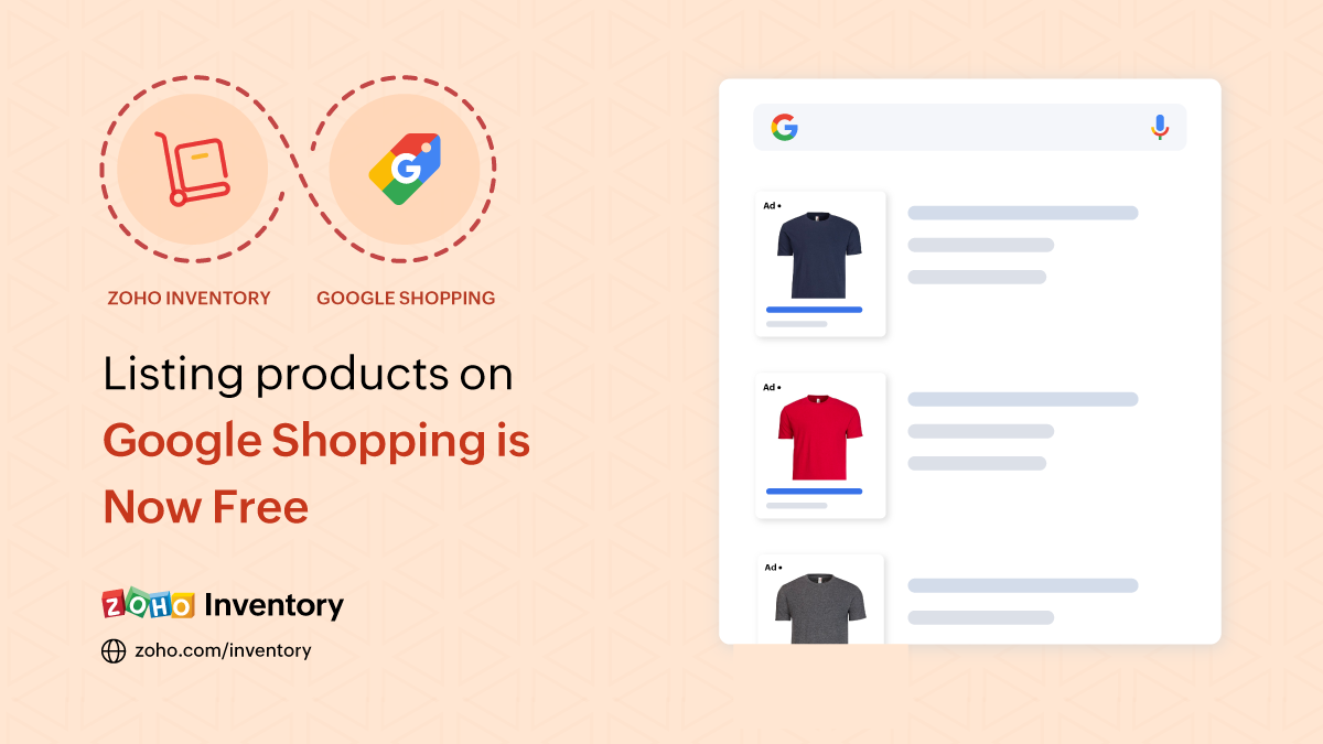 Listing products on Google Shopping is now free
