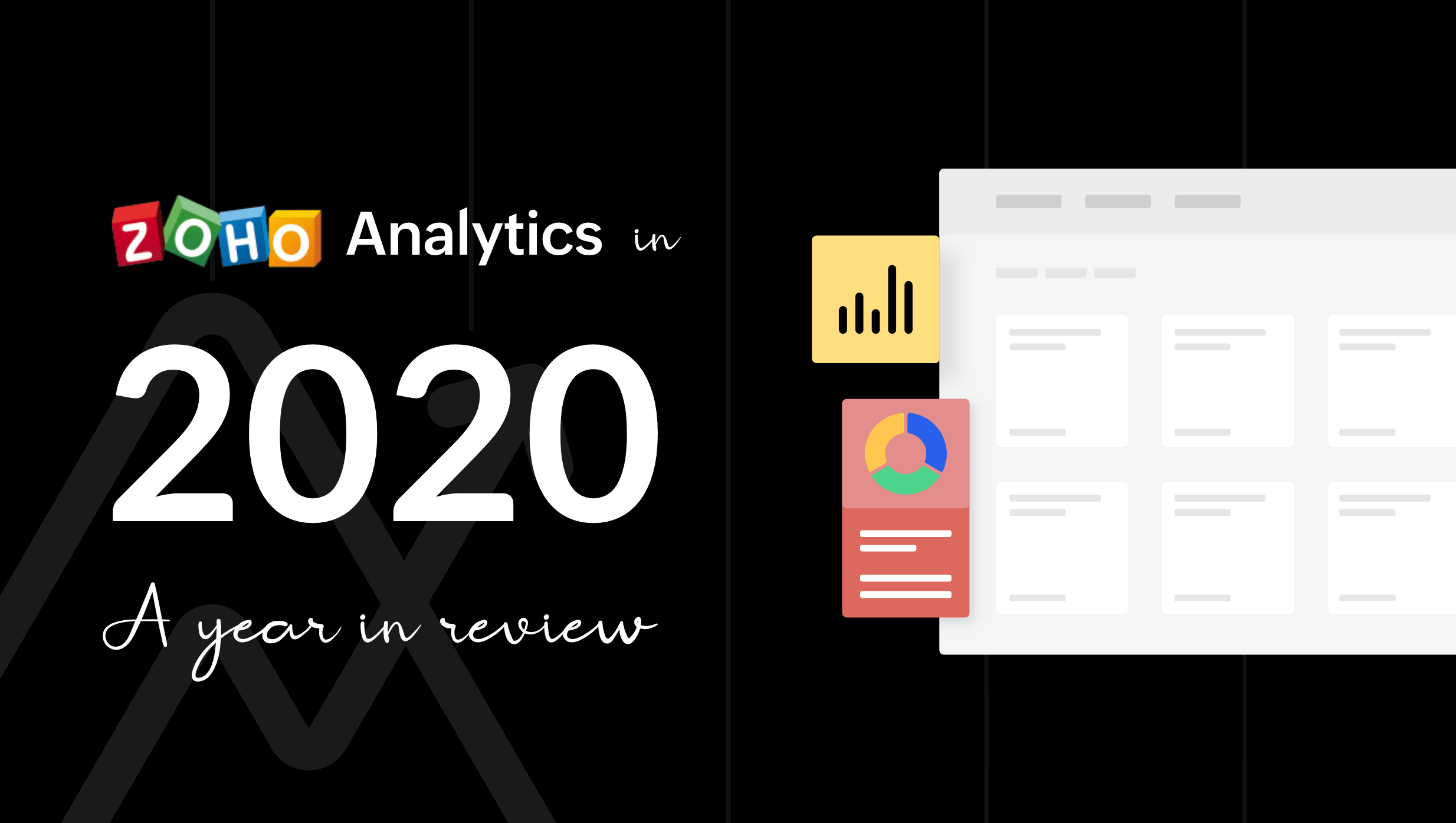 Rewind with us – Zoho Analytics in 2020