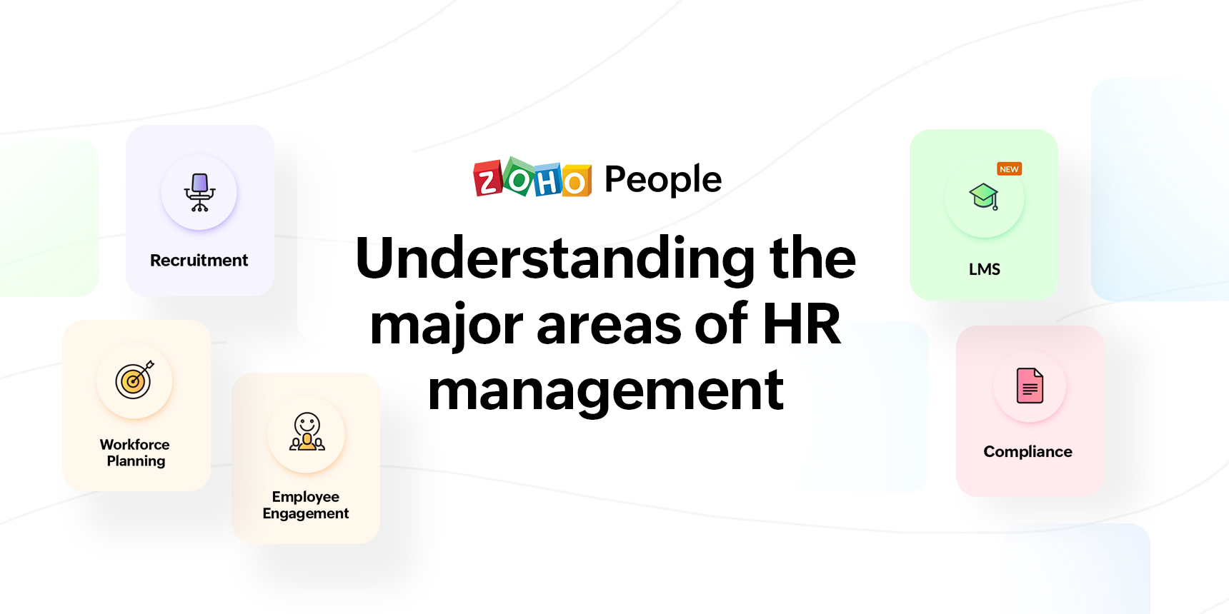 Understanding the five major aspects of HRM