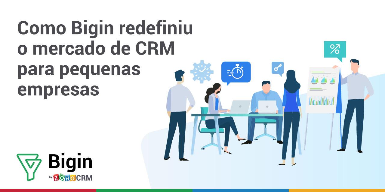 Como Bigin redefiniu o mercado de CRM para pequenas empresas