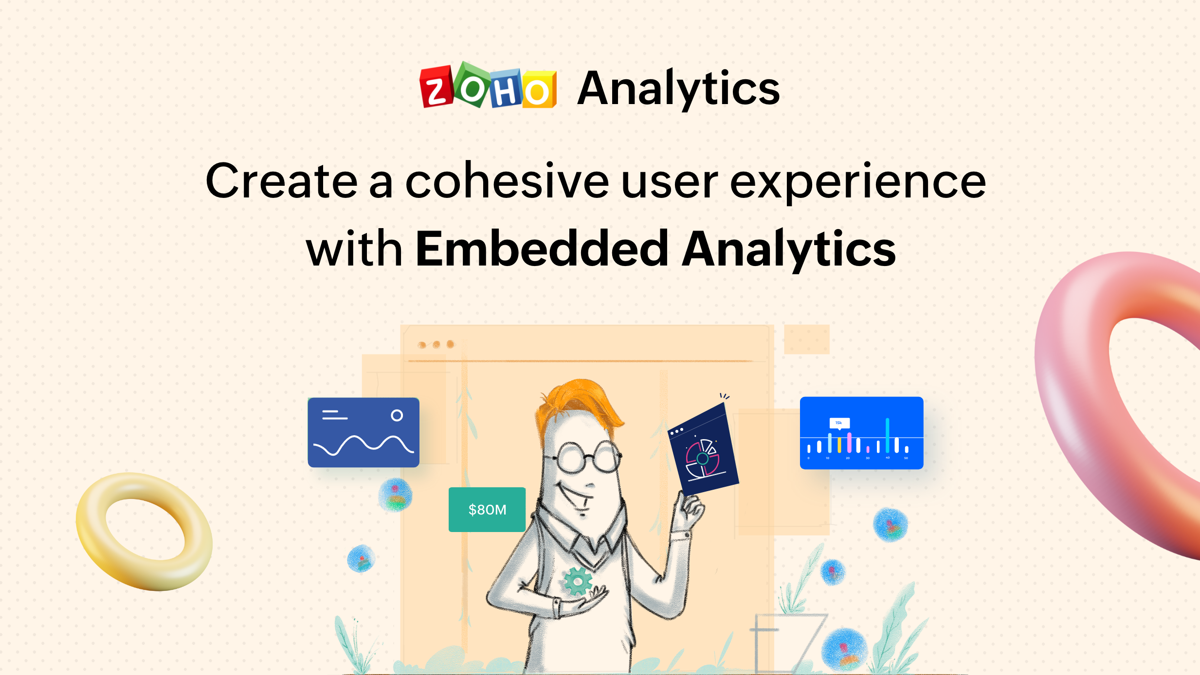 Create a cohesive user experience with embedded analytics